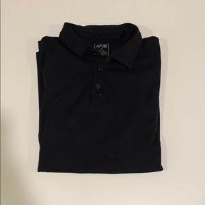 Apt. 9 Black Men's Short Sleeve Polo Shirt